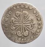 reverse: Zecche Italiane - Napoli. Carlo di Borbone (1734-1759). Carlino 1755.