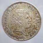 obverse: Ferdinando II di Borbone (1830-1859). 60 grana o 1/2 piastra 1855