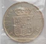 reverse: Mezza piastra 1855. AG. FDC
