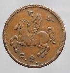 reverse: PALERMO. Ferdinando III. 2 Grani 1815 -