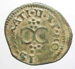 reverse: Zecche Italiane - Casale. Vincenzo I. 1587-1612. Quattrino.