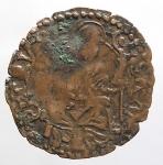 reverse: Castiglione delle Stiviere. Rodolfo Gonzaga (1586-1593). Quattrino tipo Bologna