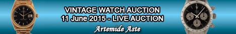 Banner Artemide Asta Orologi