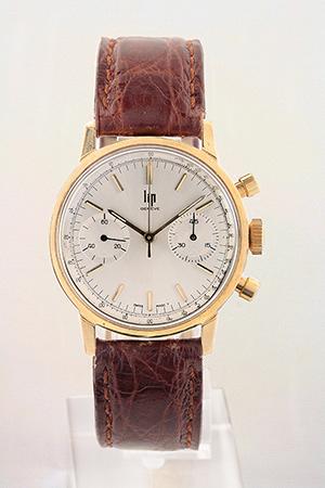 obverse image: LIP, chronograph, around 1960.