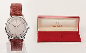 obverse image: OMEGA, around 1962. Watch.