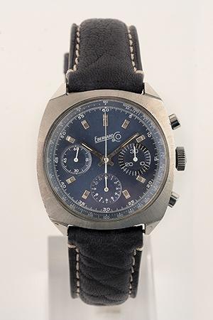 obverse image: EBERHARD, chronograph, around 1970.