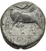 reverse:  Campania, Neapolis   Didracma, 325-241 a.C.