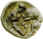 reverse:  Lucania, Heraclea    Diobolo, 370-281 a.C.