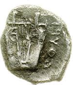 reverse:  Lucania, Thurium   Diobolo, 350-300 a.C.