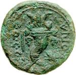 reverse:  Lucania, Thurium - Copia   Asse, 193-89 a.C.
