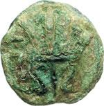 reverse:  Umbria, Tuder   Sestante, ca. 235 a.C.