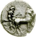 obverse:  Gela   Tetradracma, 466-415 a.C.