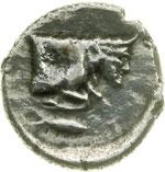 reverse:  Gela   Tetradracma, 466-415 a.C.