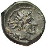 reverse:  Gela   Oncia, 420-405 a.C.