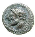 obverse:  Naxos   Litra, 461-413 a.C.