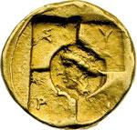 reverse:  Siracusa   AU 20 litre o tetradracma, ca. 405 a.C.