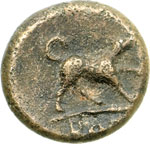 reverse:  Serie anonima Emilitra, 234-231 a.C.