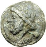 obverse:  Serie librale Semisse, 225-217 a.C.