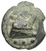 reverse:  Serie librale Quadrante, 225-217 a.C.