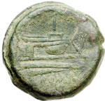 reverse:  Serie sestantale Asse, dopo il 211 a.C.