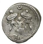 reverse:  L. Titurius L. f. Sabinus Denario, 89 a.C.