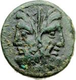 obverse:  Gargilius, Ogulnius e Vergilius Asse, 86 a.C.