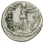 reverse:  C. Vibius C.f. C.n. Pansa Caetronianus Denario,48 a.C.