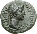 reverse:  Augusto (27 a.C-14 d.C) AE 17 mm. Tracia.