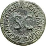 reverse:  Livia, moglie di Augusto (deceduta nel 29 d.C.) Dupondio.