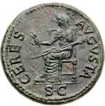 reverse:  Claudio (41-54) Dupondio.
