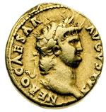 obverse:  Nerone (54-68) Aureo.