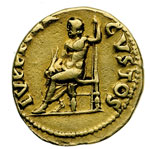 reverse:  Nerone (54-68) Aureo.