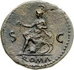 reverse:  Nerone (54-68) Dupondio.