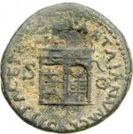 reverse:  Nerone (54-68) Asse.