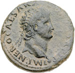 obverse:  Nerone (54 68). Dupondio, zecca balcanica.