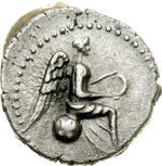 reverse:  Nerone (54 68). Emidracma, Caesarea di Cappadocia.