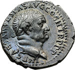 obverse:  Vespasiano (69-79) Denario, Filippi (?).