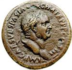 obverse:  Vespasiano (69-79) Sesterzio.