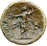 reverse:  Vespasiano (69-79) Sesterzio.