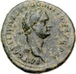obverse:  Domiziano (81-96) Asse.