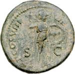 reverse:  Domiziano (81-96) Asse.