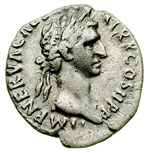 obverse:  Nerva (96-98) Denario.
