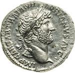 obverse:  Adriano (117-138) Denario.
