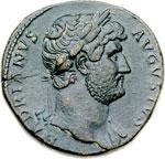 obverse:  Adriano (117-138) Sesterzio.