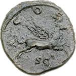 reverse:  Adriano (117-138) Dupondio.