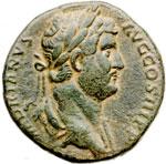 obverse:  Adriano (117-138) Sesterzio