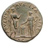 reverse:  Adriano (117-138) Sesterzio