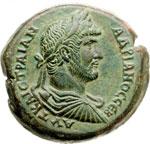 obverse:  Adriano (117-138) Dracma, Alexandria, Agitto.