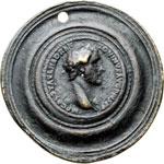 obverse:  Antonino Pio (138-161) Medaglione contorniato. Fusione antica.