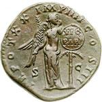 reverse:  Marco Aurelio (161-180) Sesterzio